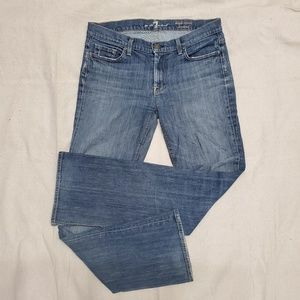 7 for all mankind High Waist Boot Cut Jeans SZ 30